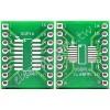 SOP16 / SSOP16 / TSSOP16 轉 DIP16 二合一雙面轉接板