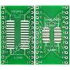 SOP24 / SSOP24 / TSSOP24 轉 DIP24 二合一雙面轉接板