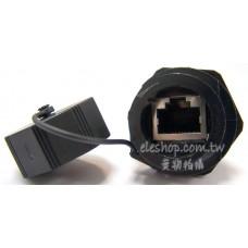 RJ45 插座、盤面固定連接器,RJ45 防水面板安裝插座