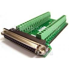 DB37母轉端子台